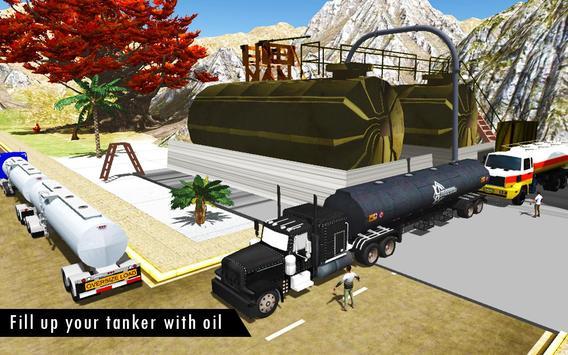 Oil Tanker Fuel Transporter 3D screenshot 6