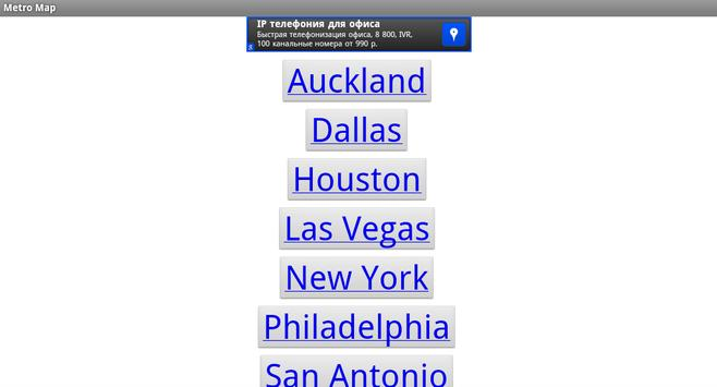 Metro Map apk screenshot