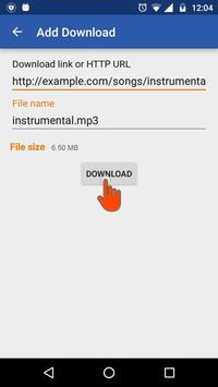 Download Manager Android Example