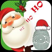 Santa Claus Naughty Nice Scanner prank icon