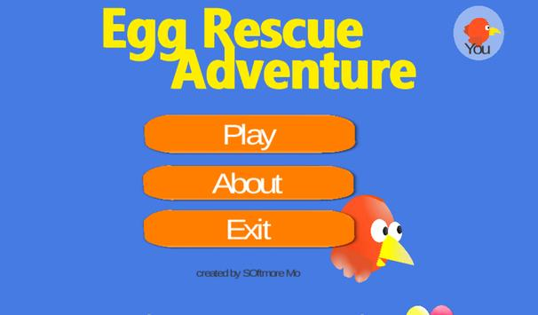 Eggs Rescue Adventure Game apk screenshot