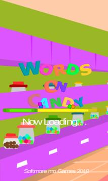 Andys Words On Candy. Free  words  puzzle game apk screenshot