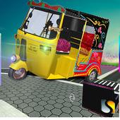 Tuk Tuk Stunts Rikshaw Driver icon