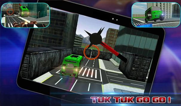 Tuk Tuk Stunts Rikshaw Driver apk screenshot