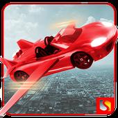 Flying Car Racing Simulator 3D icon