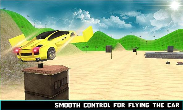 Flying Car Racing Simulator 3D poster