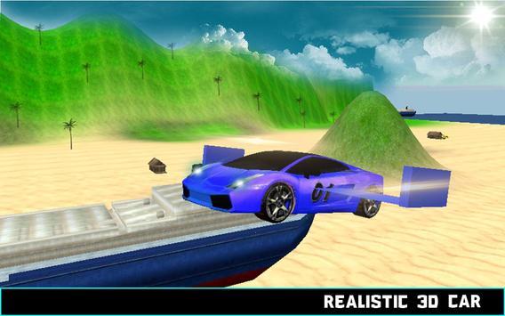 Flying Car Racing Simulator 3D apk screenshot
