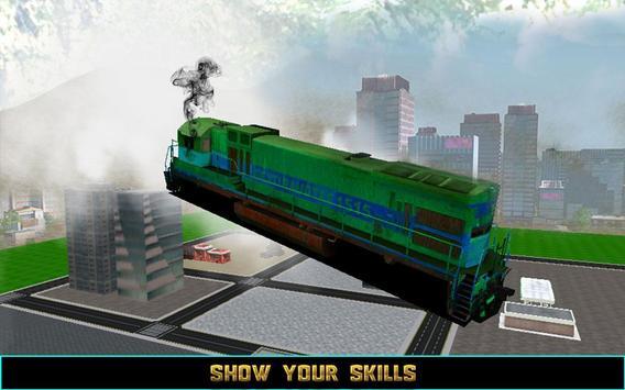 Flying Train Driver 3D 2016 apk screenshot
