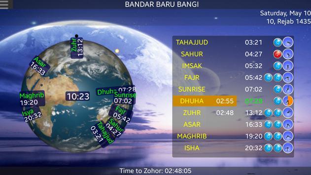 SOFTnet Solat Times apk screenshot