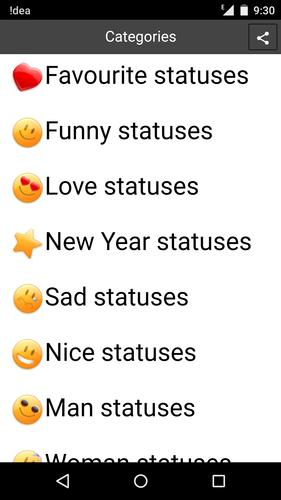 Statuses and Quotes 2015 APK Download - Free Social APP for Android ...