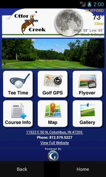 Otter Creek Golf Course poster