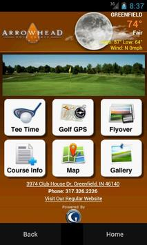 Arrowhead Golf Course poster
