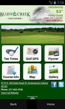 Bluff Creek Golf Course poster