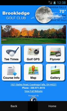 Brookledge Golf Club poster