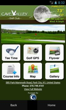 Cave Valley Golf Club poster