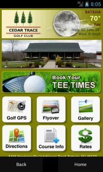 Cedar Trace Golf Club poster
