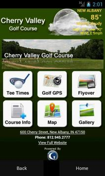 Cherry Valley Golf Course poster