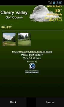 Cherry Valley Golf Course apk screenshot