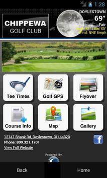 Chippewa Golf Club poster