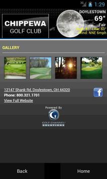 Chippewa Golf Club apk screenshot