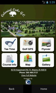 Colonial Oaks Golf Club poster