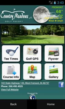Country Meadows Golf Resort poster