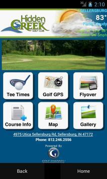 Hidden Creek Golf Club poster