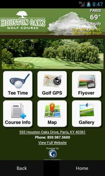 Houston Oaks Golf Course poster