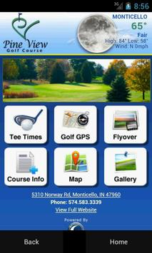 Pine View Golf Course poster