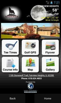 Stonewolf Golf Club poster