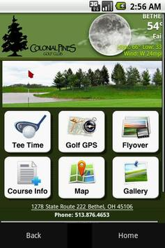 Colonial Pines Golf Club poster