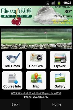 Cherry Hill Golf Club poster