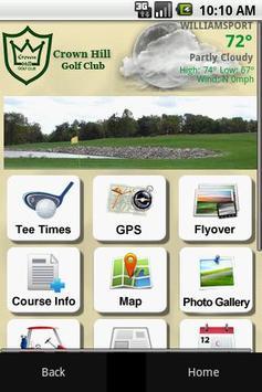 Crown Hill Golf Club poster
