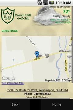 Crown Hill Golf Club apk screenshot