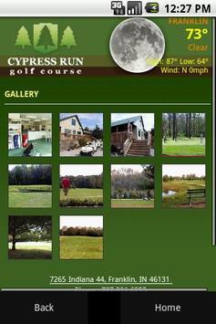 Cypress Run Golf Course apk screenshot