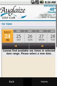 Auglaize Golf Club apk screenshot