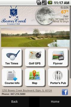 Bowes Creek Country Club poster