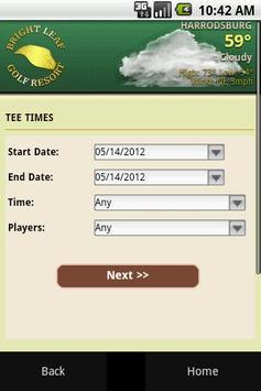Bright Leaf Golf Resort apk screenshot