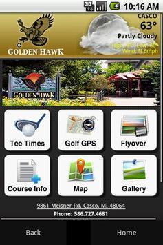Golden Hawk poster