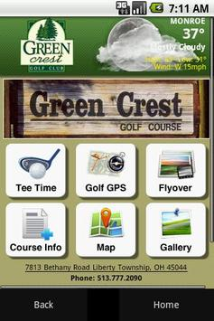 Green Crest Golf Club poster