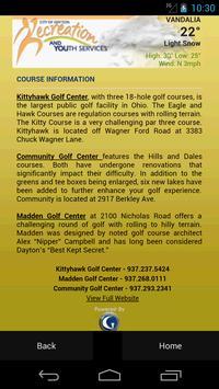 Dayton Ohio Golf apk screenshot