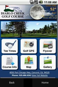 Diablo Creek Golf Course poster