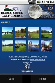 Diablo Creek Golf Course apk screenshot