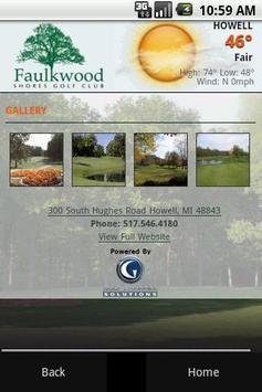 Faulkwood Shores Golf Club apk screenshot