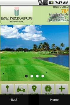 Hawaii Prince Golf Club poster