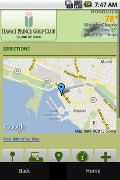 Hawaii Prince Golf Club apk screenshot