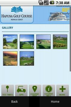 Hapuna Golf Course apk screenshot