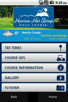 Harrison Resort Golf Course poster