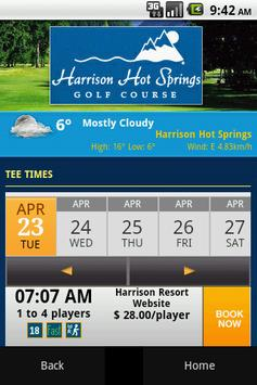 Harrison Resort Golf Course apk screenshot