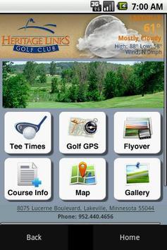Heritage Links Golf Club poster